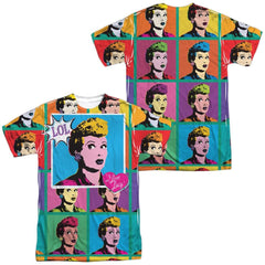 I Love Lucy - Lol Adult All Over Print 100% Poly T-Shirt