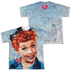 Lucy - Smile Youth All Over Print 100% Poly T-Shirt