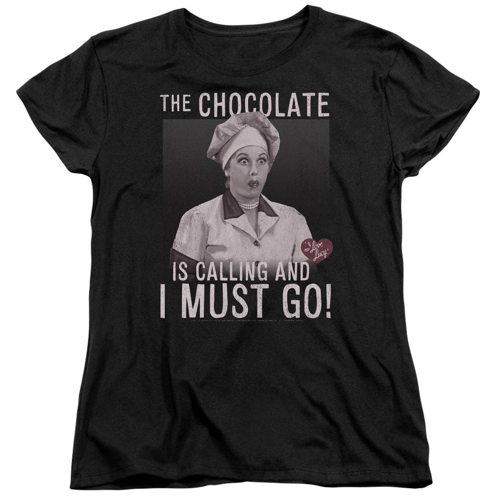 I Love Lucy - Chocolate Calling Women's T-Shirt