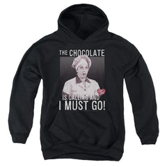 I Love Lucy - Chocolate Calling Youth Hoodie