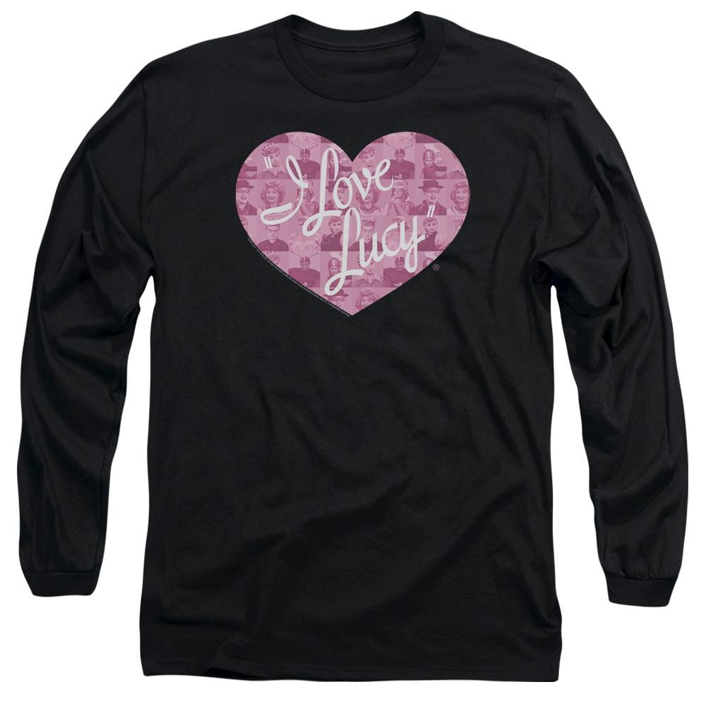 I Love Lucy - Many Moods Logo Adult Long Sleeve T-Shirt