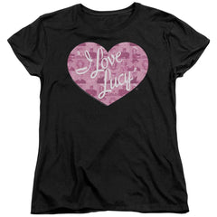 I Love Lucy - Many Moods Logo Women's T-Shirt