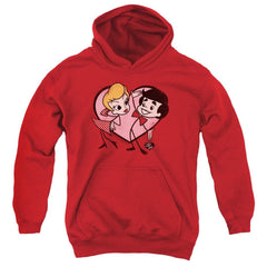 I Love Lucy - Cartoon Love Youth Hoodie
