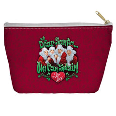 I Love Lucy - Dear Santa Tapered Bottom Pouch