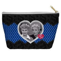 I Love Lucy - Lace Of Friendship Tapered Bottom Pouch
