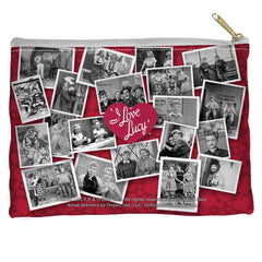 I Love Lucy - Time After Time Straight Bottom Pouch
