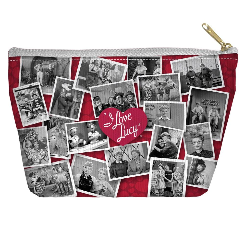 I Love Lucy - Time After Time Tapered Bottom Pouch