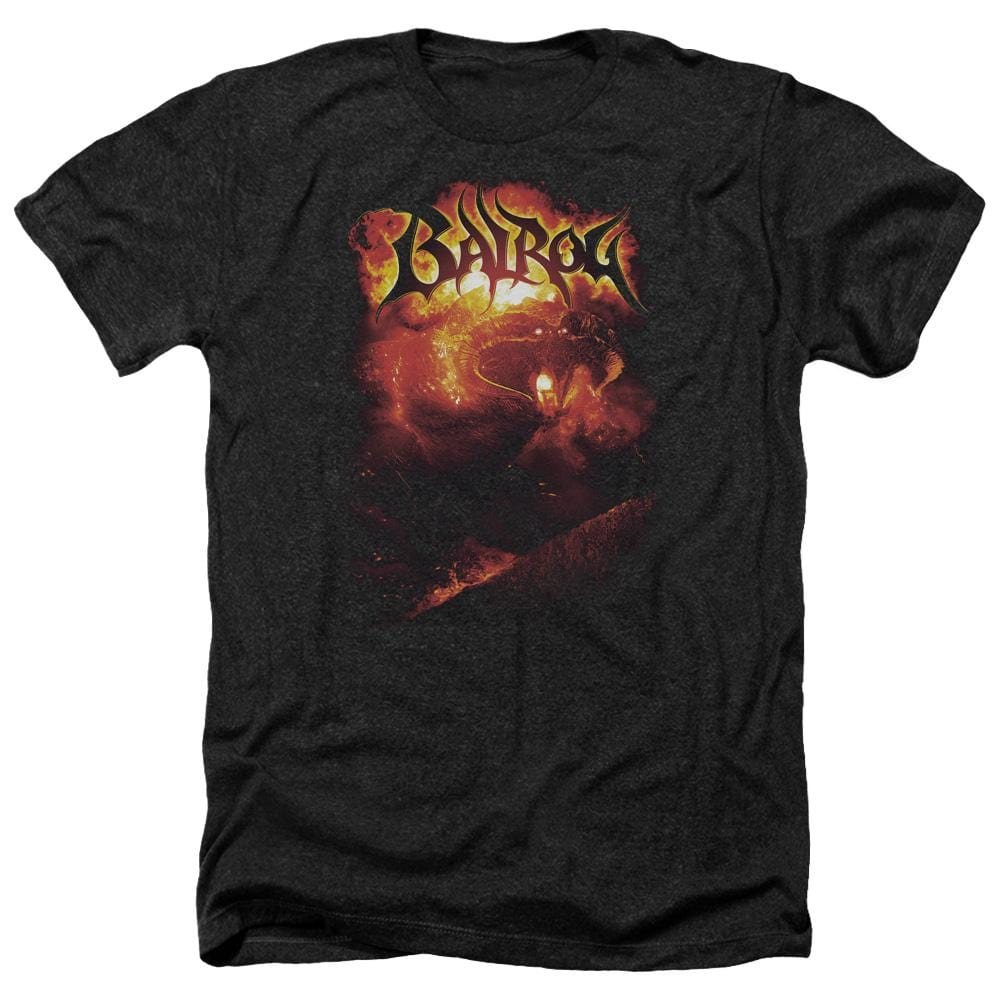 Lor Balrog Adult Regular Fit Heather T-Shirt