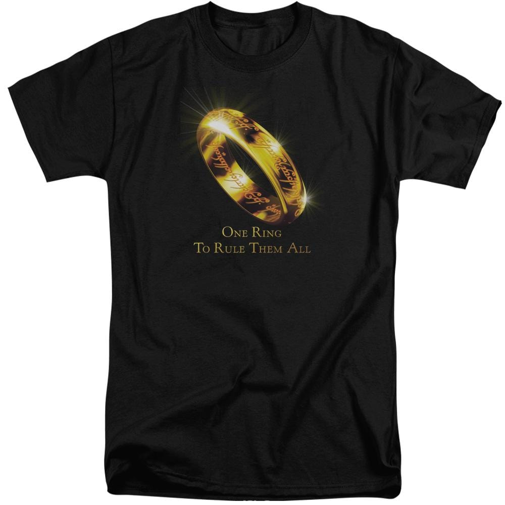 Lor One Ring Adult Tri-Blend T-Shirt