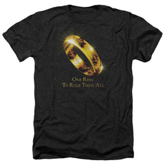 Lor One Ring Adult Regular Fit Heather T-Shirt