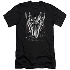 Lor Big Sauron Head Premium Adult Slim Fit T-Shirt