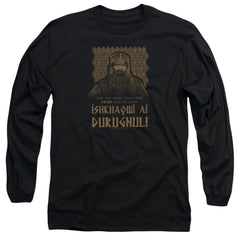 Lord Of The Rings Ishkhaqwi Durugnul Adult Long Sleeve T-Shirt