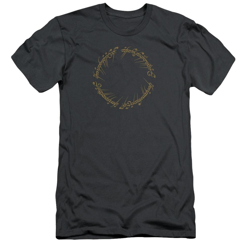 Lord Of The Rings One Ring Premium Adult Slim Fit T-Shirt