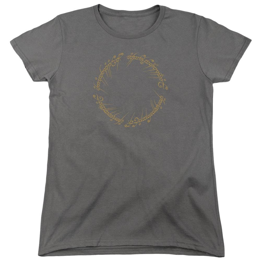 Lord Of The Rings One Ring Women's T-Shirt