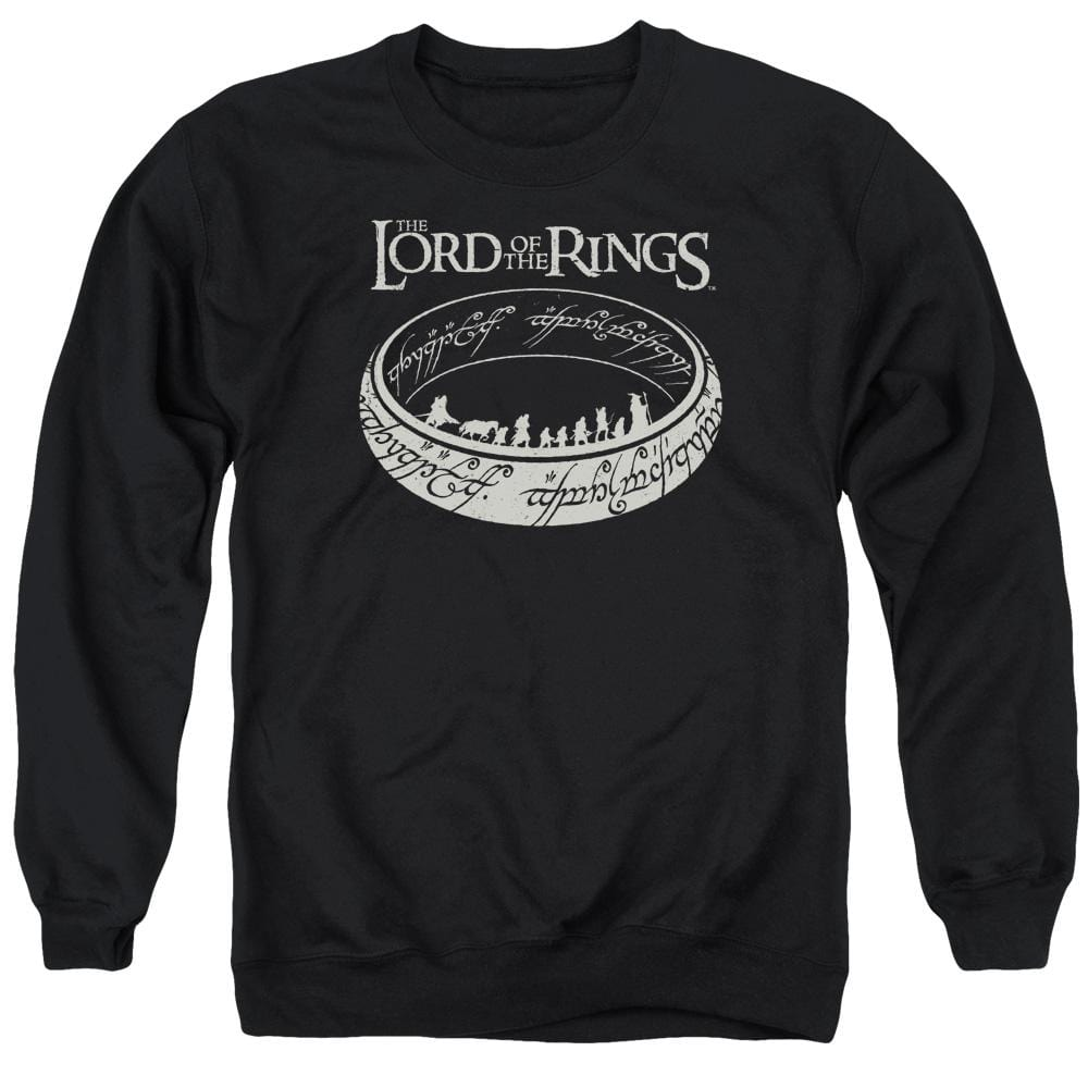 Lord Of The Rings The Journey Adult Crewneck Sweatshirt