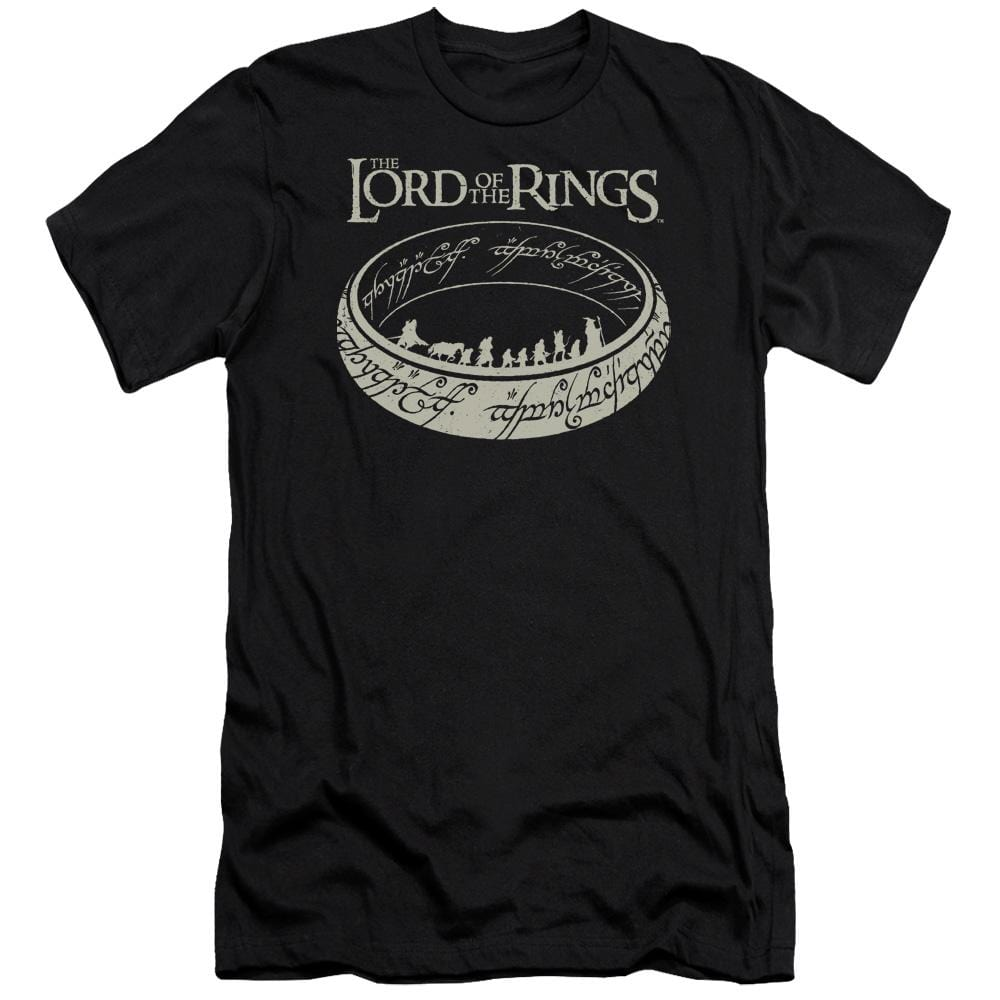 Lord Of The Rings The Journey Adult Slim Fit T-Shirt
