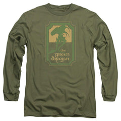 Lord Of The Rings Green Dragon Tavern Adult Long Sleeve T-Shirt