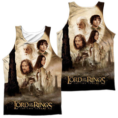 Lor - Towers Poster Adult Tank Top