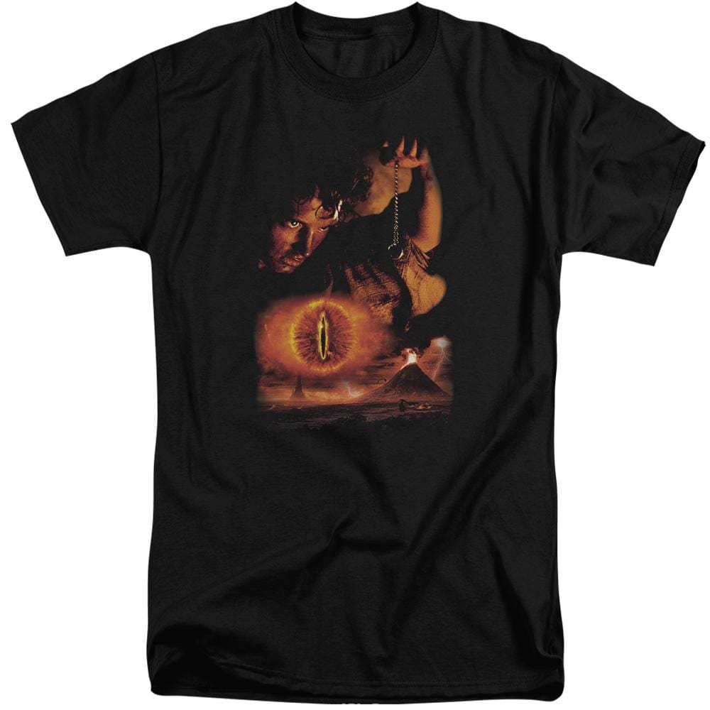 Lor Destroy The Ring Adult Tall Fit T-Shirt