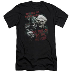 Lor Time Of The Orc Adult Slim Fit T-Shirt