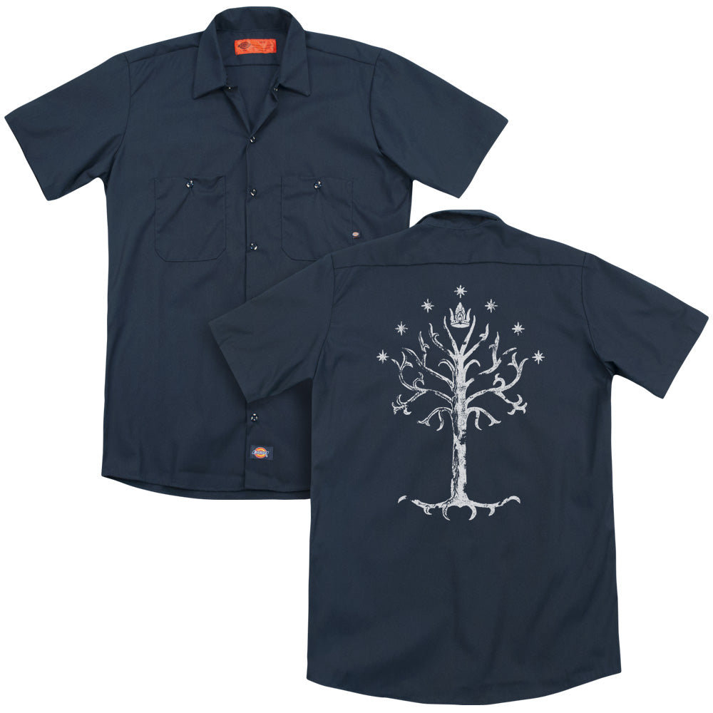 Lor - Tree Of Gondor Adult Work Shirt