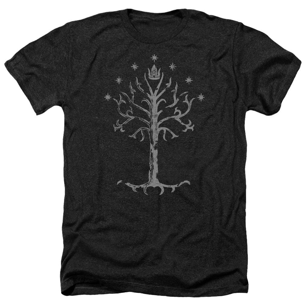 Lor Tree Of Gondor Adult Regular Fit Heather T-Shirt