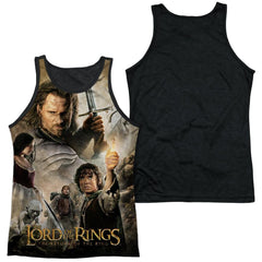 Lor - King Poster Adult Tank Top