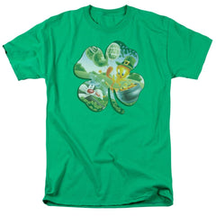 Looney Tunes Tweety Shamrock Adult Regular Fit T-Shirt