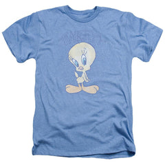 Looney Tunes Tweety Fade Adult Regular Fit Heather T-Shirt