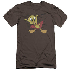 Looney Tunes Vampire Tweety Premium Adult Slim Fit T-Shirt