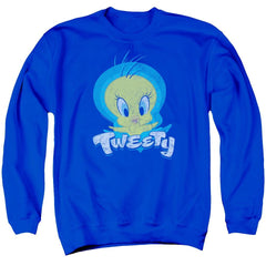 Looney Tunes Tweety Swirl Adult Crewneck Sweatshirt