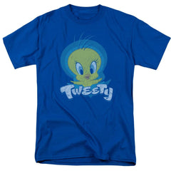 Looney Tunes Tweety Swirl Adult Regular Fit T-Shirt