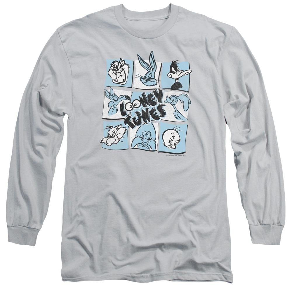 Looney Tunes The Looney Bunch Adult Long Sleeve T-Shirt