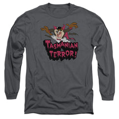 Looney Tunes Taz Terror Adult Long Sleeve T-Shirt