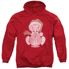 Looney Tunes Tweey Globe Adult Pull-Over Hoodie