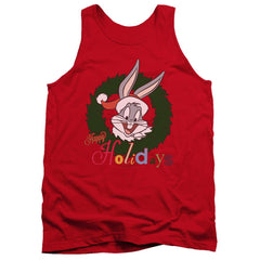 Looney Tunes Holiday Bunny Adult Tank Top