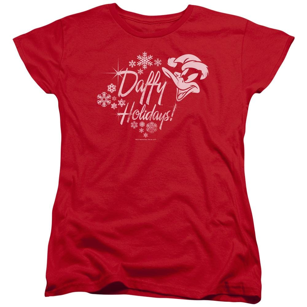 Looney Tunes Daffy Holidays Women's T-Shirt