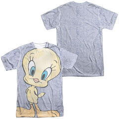 Looney Tunes Tweety Girl Adult All Over Print 100% Poly T-Shirt
