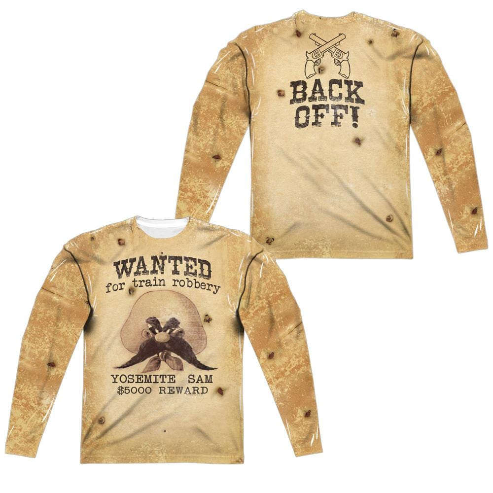 Looney Tunes Wanted Long Sleeve T-Shirt