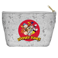 Looney Tunes - Group Burst Tapered Bottom Pouch
