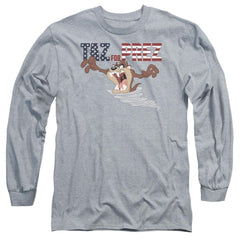 Looney Tunes Taz For Prez 3 Adult Long Sleeve T-Shirt