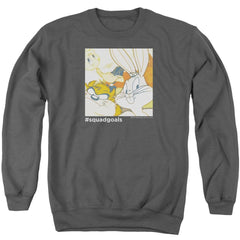 Looney Tunes Squad Goals Adult Crewneck Sweatshirt