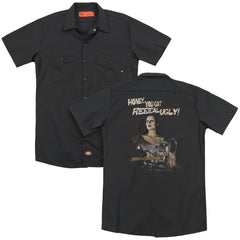 Army Of Darkness Reeeal Ugly! Adult Work Shirt