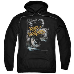 Army Of Darkness Covered Adult Pull-Over Hoodie