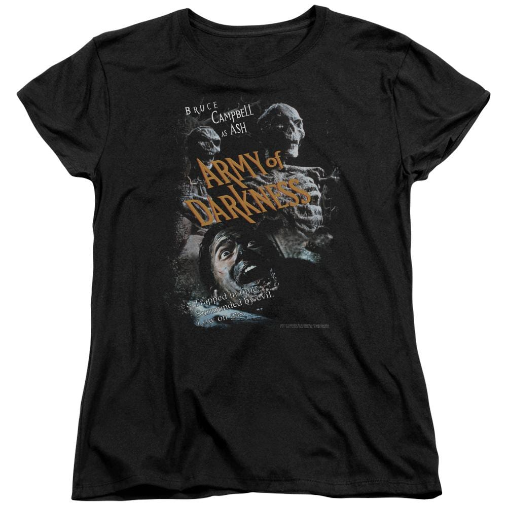 Army Of Darkness Covered Women's T-Shirt