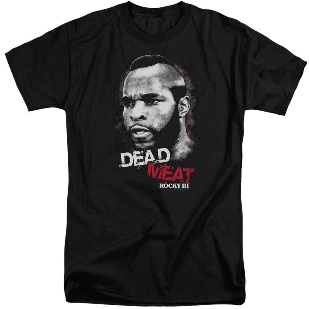 Rocky Iii Dead Meat Adult Tri-Blend T-Shirt