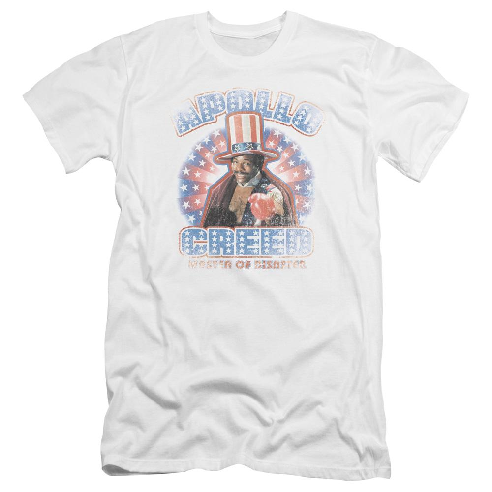 Rocky Apollo Creed Premium Adult Slim Fit T-Shirt