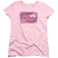Pink Panther Distressed Women's T-Shirt