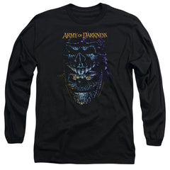 Army Of Darkness Evil Ash Adult Long Sleeve T-Shirt
