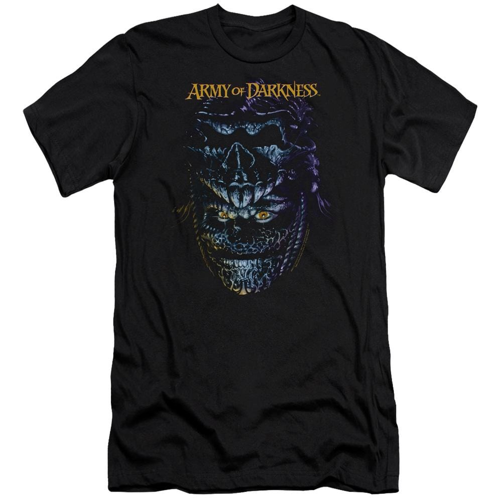 Army Of Darkness Evil Ash Premium Adult Slim Fit T-Shirt
